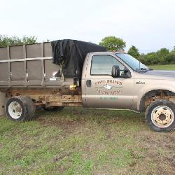 2002 Ford F-450 with 6.8L EFI V10 Gas Stake Truck with Supreme 12ft box