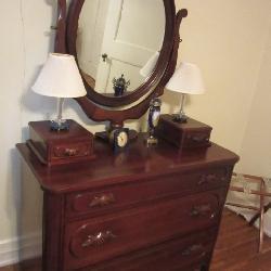 Davis Cabinet Lillian Russell Dresser