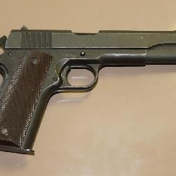 Remington Rand M 1911 A1 US Army issued 7 shot .45 cal w/ holster