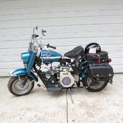 1961 Cushman motor cycle