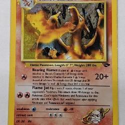 2000 Pokemon Holo Blaine's Charizard Gym Challenge