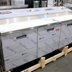 New Randell Refrigerated Prep Tables