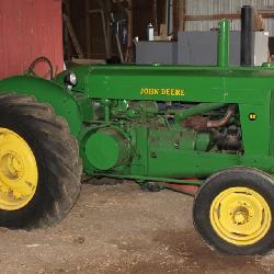 1951 John Deere AR Tractor SER#27876