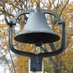 Antique Farm Bell- Fredericktown, Ohio 4 ½
