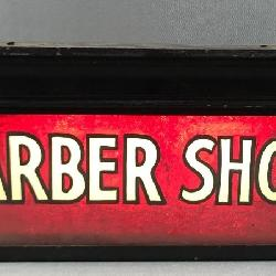 Double Sided Light Up Barber Shop Sign