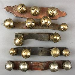 Huge Collection of Antique Brass Bells