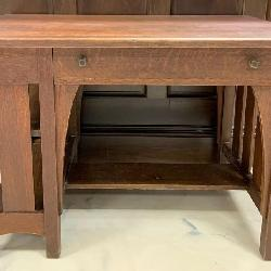 Antique Limbert Arts & Craft Mission Style Quarter Sawn Desk