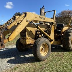 Massey Ferguson Loader Tractor
