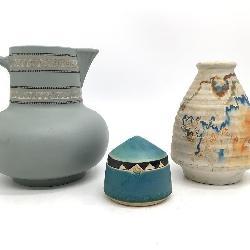 3pc  Pottery