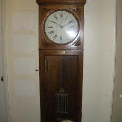 Waltham Clock Co. Railroad Wall Clock