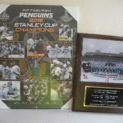 Pittsburgh Penguins Wall Plaques
