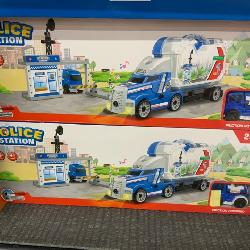 New Child's police toy car haulers toy