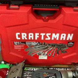 New 121 piece Craftsman mechanic tool set