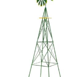 Green 8ft wind mill
