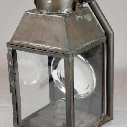 C/1890 Lg. Dietz #2 Tubular Square Lamp