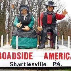 Roadside America Fiberglass Sculpture
