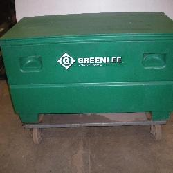Greenlee Job/Storage Box  Capacity 16 Cubic Ft.