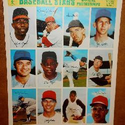 1969 Stamp Sheet