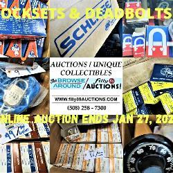 Surplus Lockset & Deadbolt Auction