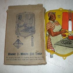 Vintage Mammy Egg Timer w/original Box