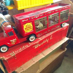 Vintage Toy Circus Truck