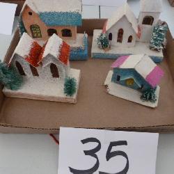 cardboard & mica houses
