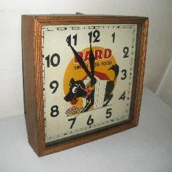 Pard Swift Dog Food Clock 16x16x4