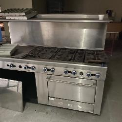 Commercial gas cook stove