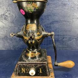 ANTIQUE ENTERPRISE NO 1 COFFEE MILL GRINDER