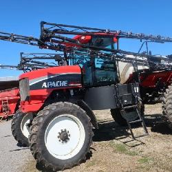 Apache AS715 Sprayer, 1344 Hours, 2840 Gallon Tank, 90' Booms,  380/80R-38 Fronts, 380/90R-46 Drive, Raven GPS System, SN 9100047