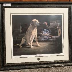 36 x 32NWTF old timer framed print