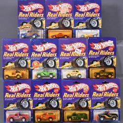 Mattel Hot Wheels Real Riders