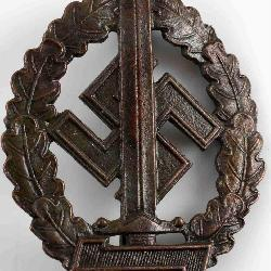100% authentic 869b5 6c1d9 WWII GERMAN 3RD REICH SA WAR WOUNDED SPORTS BADGE