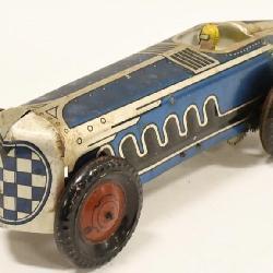 47f655d347 1930s Marx Tin Litho Wind Up Racer