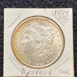 1884 Carson City Silver Dollar