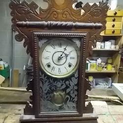 Ginger Bread Mantle Clock