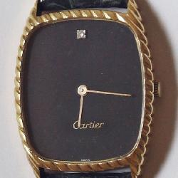 14K / 18K Cartier Wrist Watch: Gerard Genta