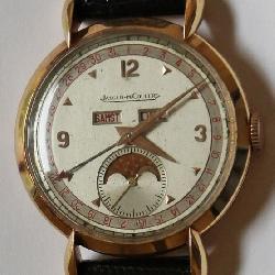 18K Jaeger - Le Coultre Men's Wrist Watch