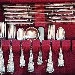 Mauser Sterling Silver Faltware: Mount Vernon Pattern