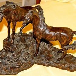 Langford Monroe Bronze Sculpture: