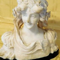 Victorian Era Marble Bust