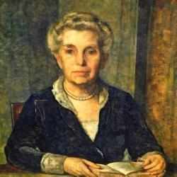 Oil On Canvas Portrait 1926