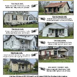 6 INVESTMENT PROPERTIES LEBANON TN ABSOLUTE AUCTION