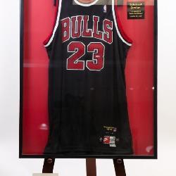 Signed Michael Jordan