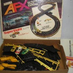 Aurora HO Scale Slot Car Race Car Set W/3 Cars