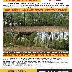 Brookwood Lane • Lebanon TN