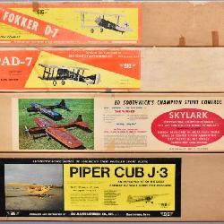 Balsa airplane kits