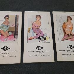 Huge selection of vintage pin up girls