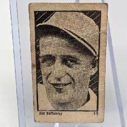 1923 Jim Bottomly Rookie Card Maple Crispette #19
