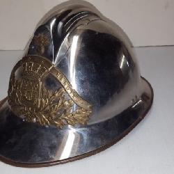 Paris Fire Tin Helmet